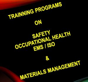 Training Program on Safety Occupational Health EMS/ISO